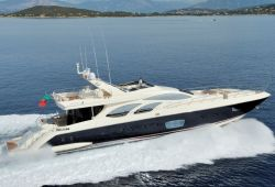 Location Yacht Azimut 100 Corse