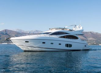 LOCATION YACHT SUNSEEKER MANHATTAN 70