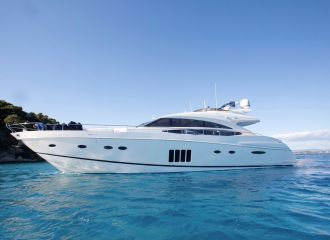 LOCATION YACHT PRINCESS 85