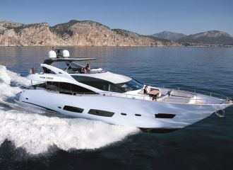 LOCATION YACHT SUNSEEKER 88