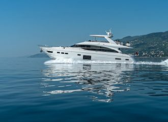 LOCATION YACHT PRINCESS 82