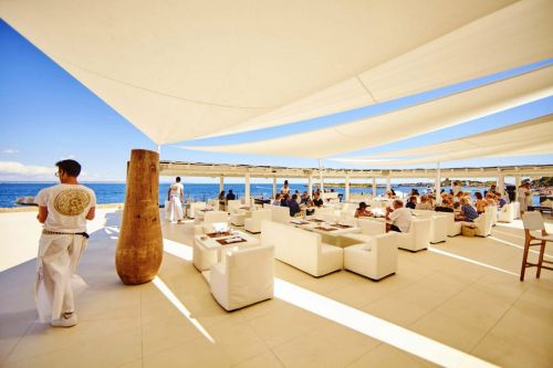 The best beach clubs to visit on a Mediterranean yacht charter