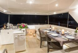 Princess yacht rental in the south of France