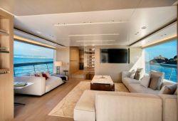 Sanlorenzo SX88 nouveaux yachts à louer dans le sud de la France - salon