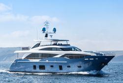 Location yacht Princess 30M dans le sud de la France - en navigation