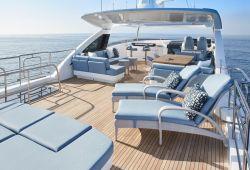 Location bateau Princess 30M dans le sud de la France - flybridge