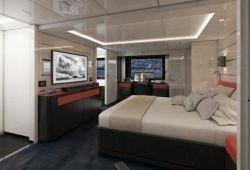Arcadia 105 - cabine armateur