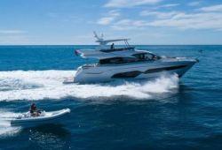 Location yacht Sunseeker Manhattan 66 dans le sud de la France - en croisière