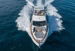 Location bateau Sunseeker Manhattan 66 dans le sud de la France - en navigation