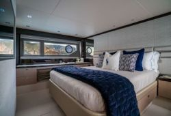 Sunseeker Manhattan 66 - cabine armateur