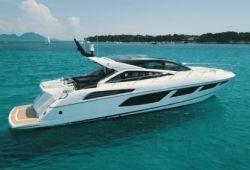 Location yacht Sunseeker Predator 68 dans le sud de la France - en croisière