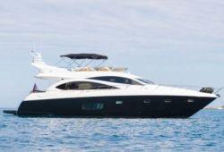 Location yacht Sunseeker Manhattan 70 dans le sud de la France - en croisière