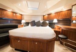 Sunseeker Manhattan 70 - cabine armateur