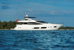 Location yacht Sunseeker 28m dans le sud de la France - en croisière