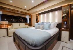 Sunseeker 28m - cabine armateur