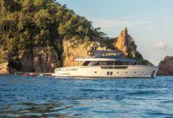 Location yacht Sanlorenzo SX88 dans le sud de la France - en croisière