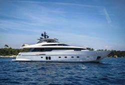 Location yacht Sanlorenzo SL96 dans le sud de la France - en croisière
