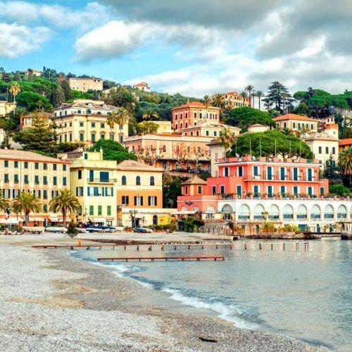 Santa Margherita Ligure sur la Riviera italienne près de Portofino
