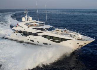 LOCATION YACHT SUNSEEKER 116