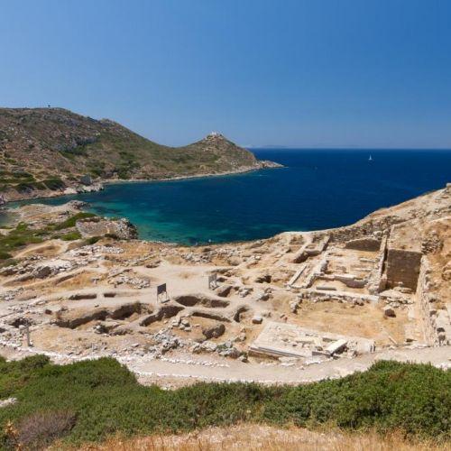 La ville antique et les ruines de Knidos en Turquie