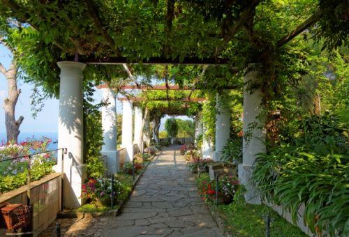 Les jardins de la Villa San Michele à Anacapri
