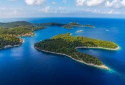 Le parc national de Mljet et ses îles luxuriantes en Croatie