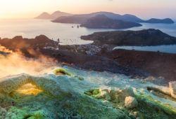 L'île de Vulcano en Sicile
