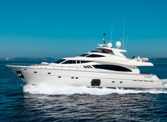 LOCATION YACHT FERRETTI 881 RPH