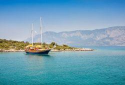 Un yacht à goélettes à louer en Turquie sur la Riviera turque
