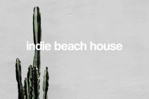 Le restaurant de plage Indie Beach House à Saint-Tropez
