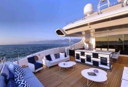 Location bateau Mangusta 165E dans le sud de la France - pont arrière