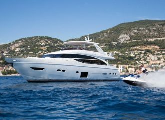 LOCATION YACHT PRINCESS 88