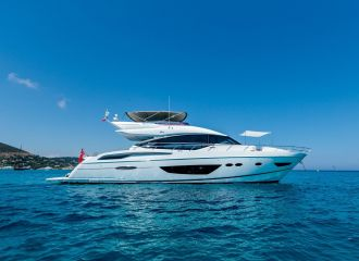 LOCATION YACHT PRINCESS S72