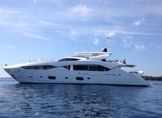 LOCATION YACHT SUNSEEKER 115