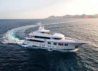 LOCATION ALIA YACHTS 41M