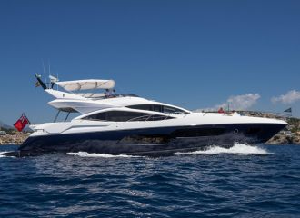 LOCATION YACHT SUNSEEKER 80