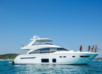 LOCATION YACHT PRINCESS 68
